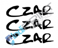 Czar Frame Decals